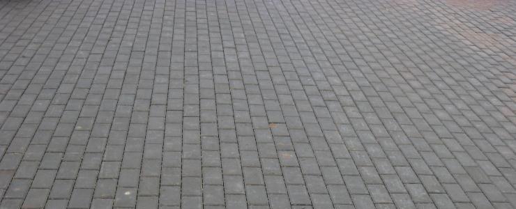 Тротуарная плитка Кирпичик и Старый город, борт